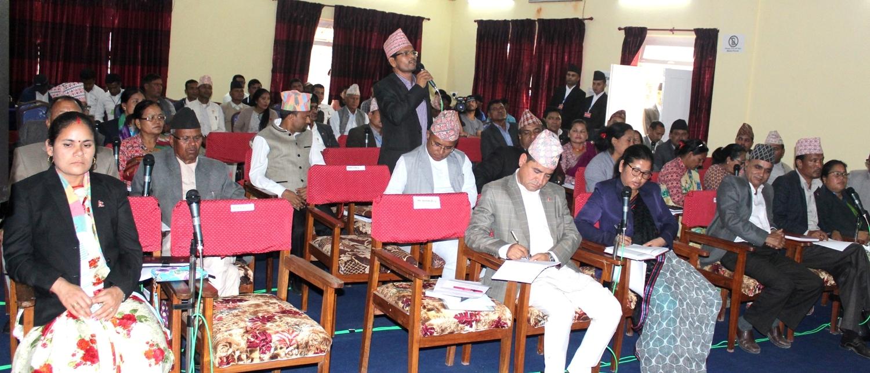 कर्णाली प्रदेश संसद अवरुद्ध, आधा घण्टाका लागि वैठक स्थगित