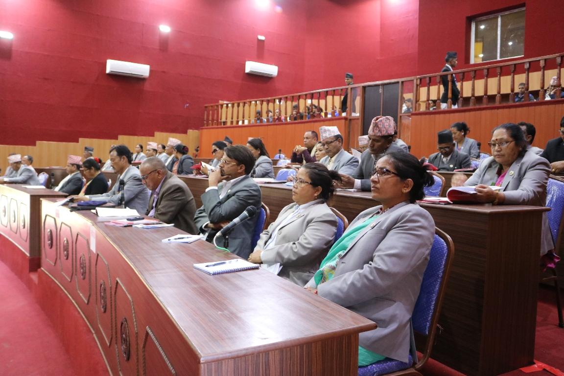 आर्थिक मामिला मन्त्रीको राजीनामा माग्दै कांग्रेसद्धारा संसद अवरुद्ध